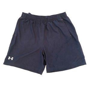 Under Armour Men's Athletic Shorts Navy Blue